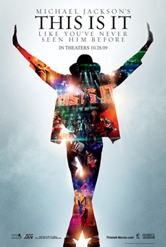 This is It movie poster - Michael Jackson